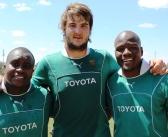 Springbok Mohoje tot einde 2016 'n Cheetah
